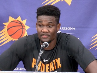 WELCOME BACK: Suns draft Ayton with No. 1 pick