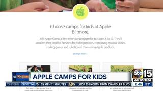 Sign up for Apple's free camps now!