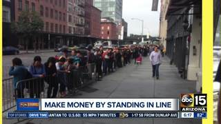 Got time? Make money while waiting in line