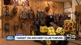 VIDEO: Arizona Archery Club hit by burglars