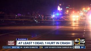Police investigating deadly crash in south PHX