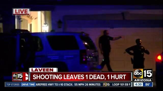 1 dead, 1 hurt in shooting near 51st Av/Baseline