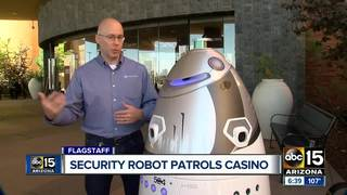Flagstaff casino using 1st security robot in AZ