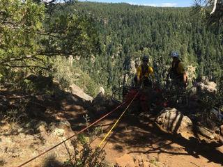CCSO: Man fell 20 ft during climb near Flagstaff