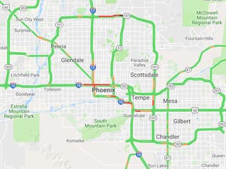 Abc Traffic Map.Phoenix Arizona Area Traffic Adot Alerts Abc15 Arizona