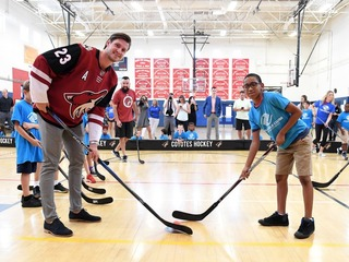Ekman-Larsson gives $125K to Boys & Girls Clubs