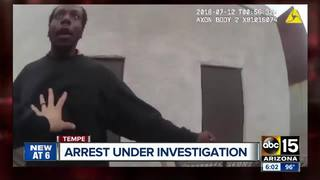 Arrest by Tempe police called into question