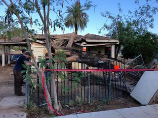 Mesa community still cleaning up after storms