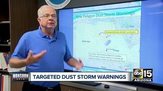 NWS changing dust warnings