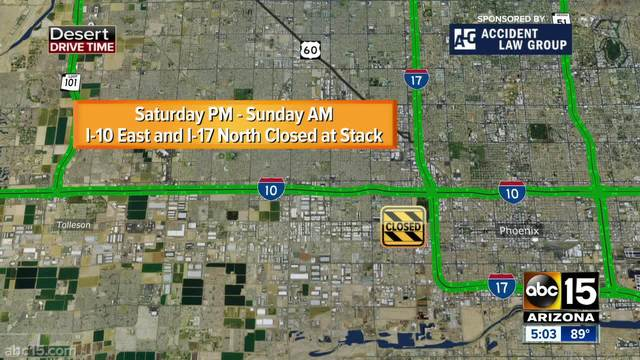 US-60 closure set for this weekend to make changes, improve safety ...