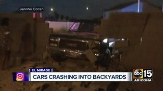 Cars continually crashing into El Mirage yards