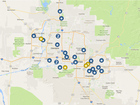 MAP: Luckiest places to buy AZ lottery tickets