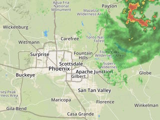 LIVE RADAR: Track storm activity around Arizona