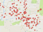 MAP: Average weekend sees dozens of Valley DUIs