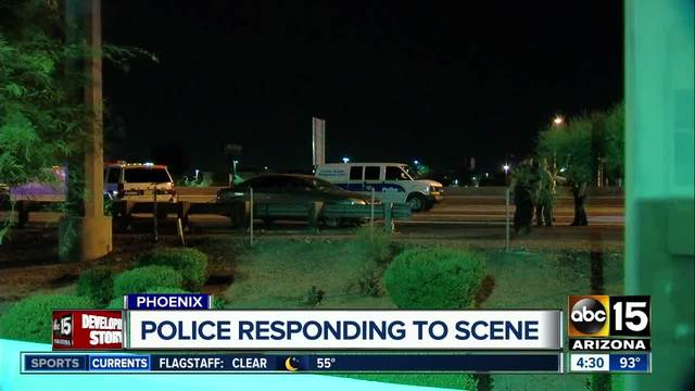 Injured person found along I-17