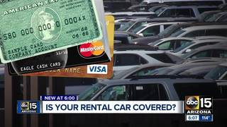 Does your credit card offer car rental coverage?