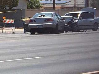 PD investigating serious crash in west Phoenix
