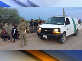 CBP: Group of 95 found crossing border illegally