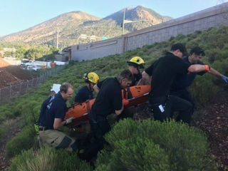 FD: Man trapped in Flagstaff storm drain rescued