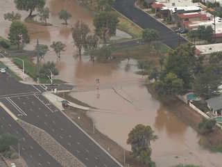 Heavy flooding leads to road closures in Valley