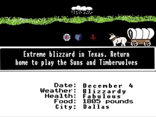 Blazers use 'Oregon Trail' to reveal schedule