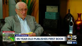 Scottsdale man pens first book at 95 years old
