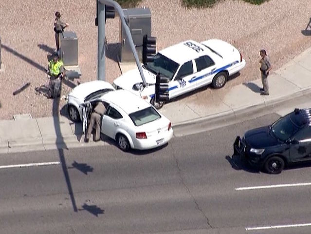 NOW: DPS searching for suspect in Mesa