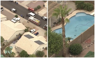 Child pulled from Surprise pool dies at hospital