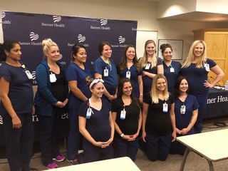 16 nurses pregnant at same time in Mesa
