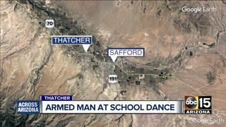 Police: Thatcher man brings gun to school dance