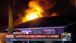 Investigators looking into PHX house fires