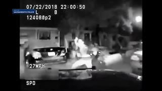 VIDEO: Police SUV crashes into fleeing teen