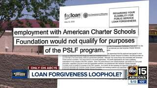 Loan forgiveness rules may exclude some teachers