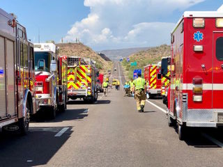 I-17 NB reopened after wreck north of the Valley