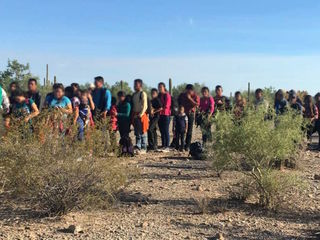Border agents find 2nd group of 163 immigrants