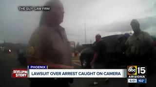 Lawsuit filed against MCSO following arrest