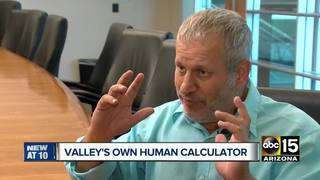 Valley man dubbed the 'human calculator'