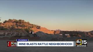 Cave Creek homeowners fed up with mine blasting