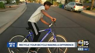 Recycle Your Bicycle gets AZ foster kids moving