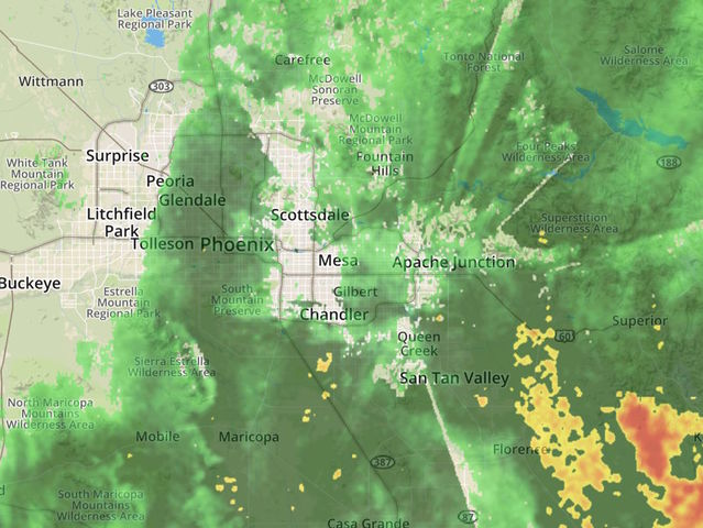 LIVE RADAR: Track storms around the Valley