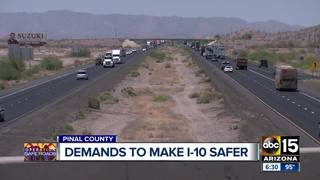 County officials call on ADOT to make I-10 safer