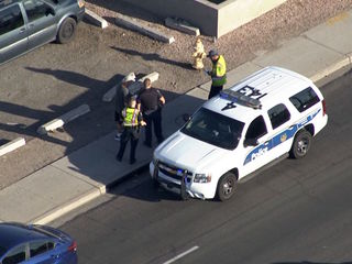 PHX cop involved in crash near 19th Ave/Hatcher