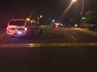 PHX PD: Pedestrian struck by car, hospitalized