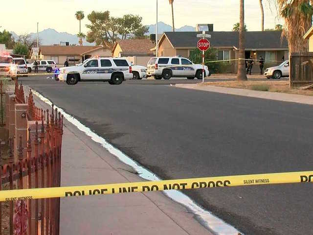 PD involved in shooting near 83rd Ave/Campbell
