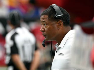 Cards coach questioned about late call vs. Bears