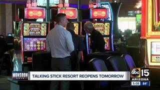 Talking Stick Resort reopens after damage