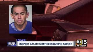 Tempe officers hurt after fight with suspect