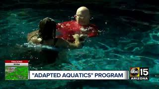 Swim school aims to help those with disabilities