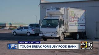 AJ food bank needs help repairing vital truck