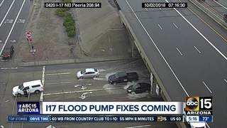 ADOT plans to repair I-17 flood pumps next year